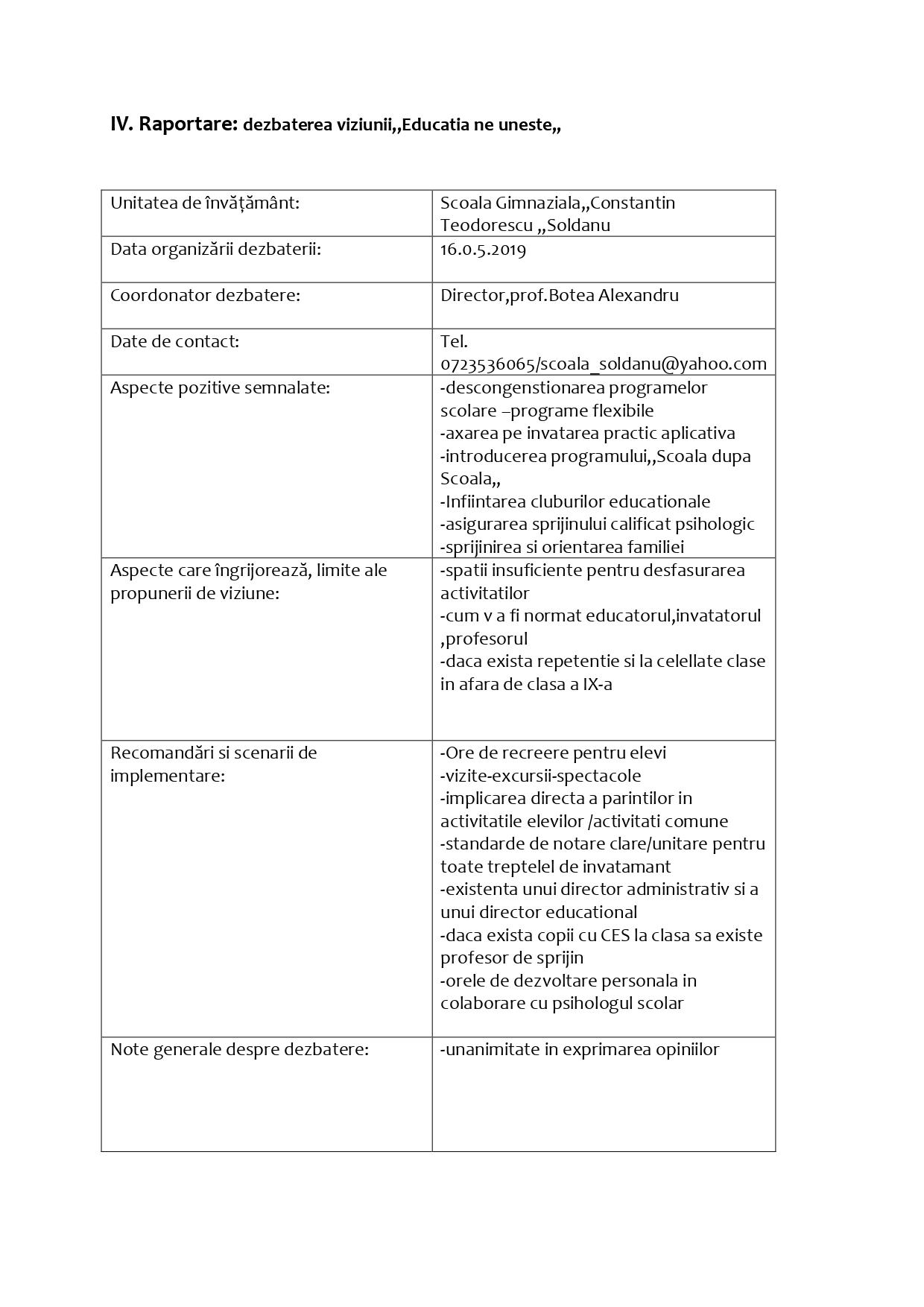 Raportare dezbaterea viziunii Educatia ne uneste page 0001